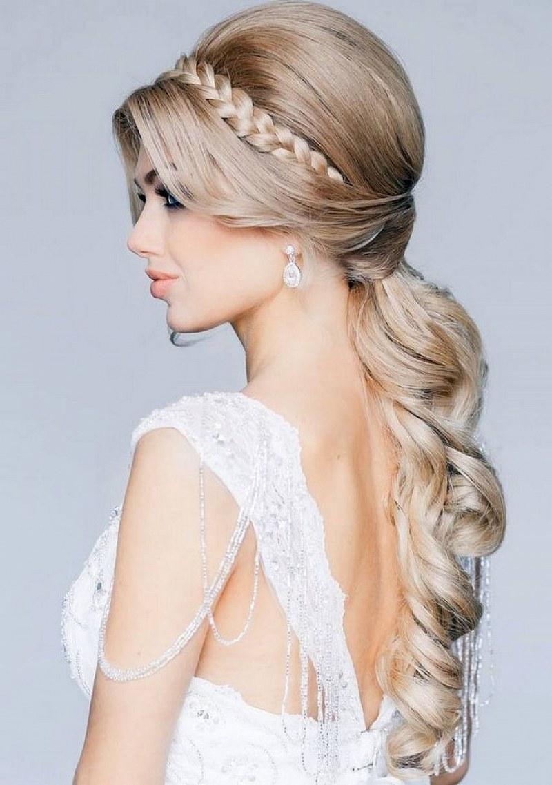 Прически из длинных волос (торжественные, вечерние)