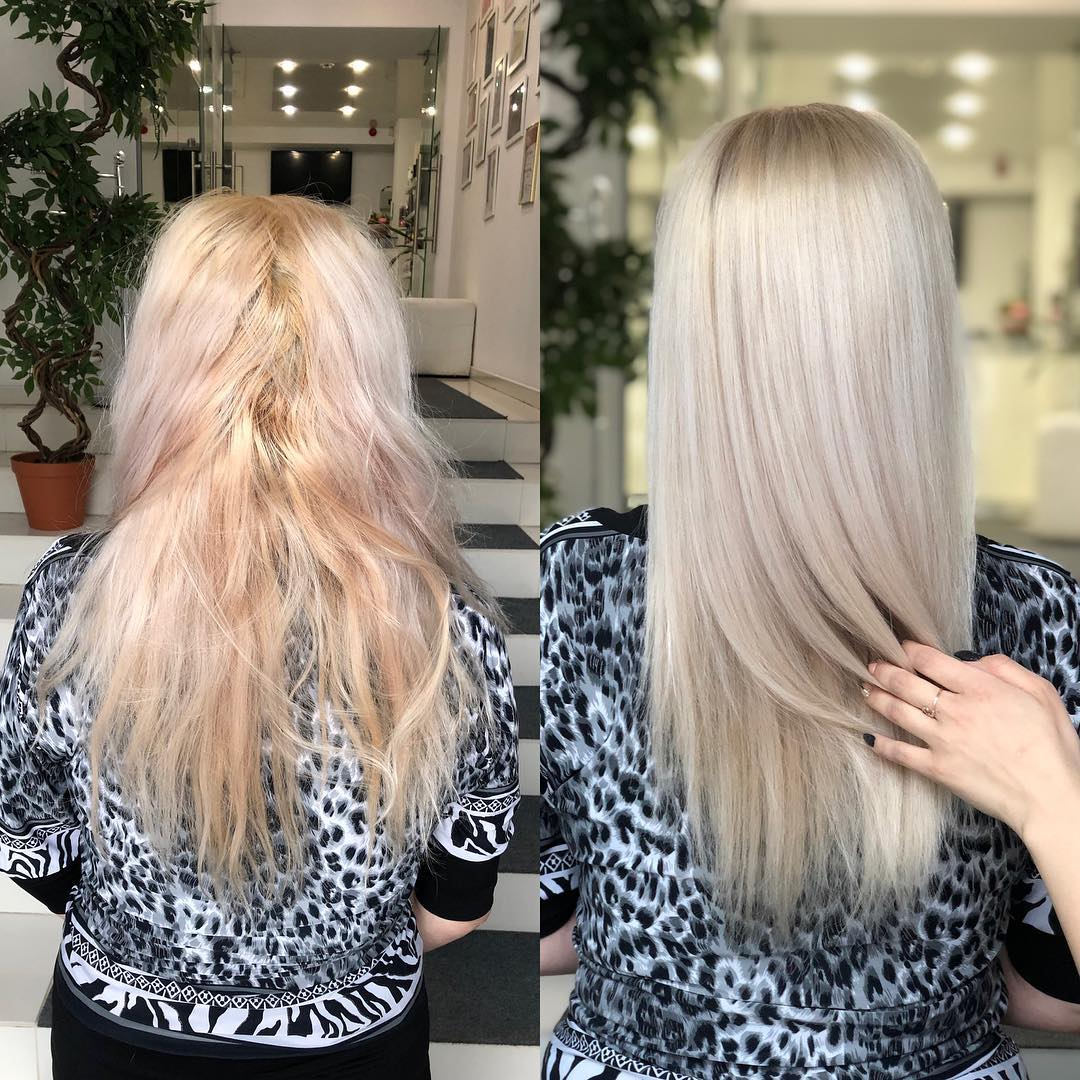 Кератиновое ламинирование волос